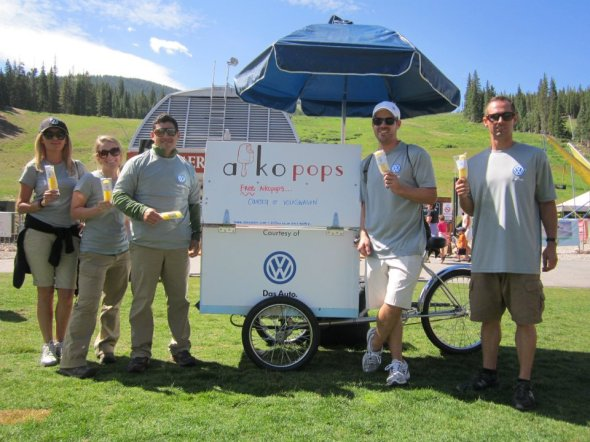 Hire Aikopops Popsicles Denver Colorado Volkswagen