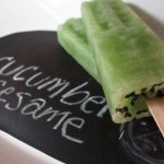 cucumber sesame pop by aiko pops